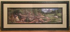 "Bev Doolittle- 1997 ""Music in the Wind"" S/N Ltd Ed framed print w/COA is mint!"