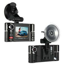 "F30 2.7"" Dual Lens Car DVR Video Driving Recorder Dash Camera Night Vision SOS"