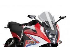 PUIG RACING SCREEN (SMOKE) 7003H Fits: Honda CBR650F,CBR650FA 30-1103