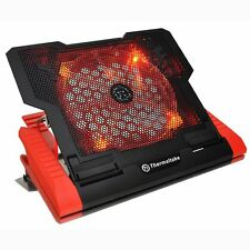 "Thermaltake Cln0019 Massive 23 Gt Negro Notebook Cooler 10-17 "", 200mm Led Rojo"