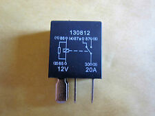 5 Pin 12v  20A Micro Relay (Changeover) + Resistor