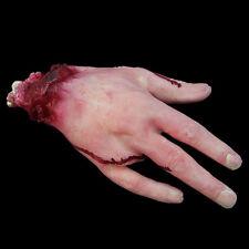 1 tlg Abgetrennter Arm Blutig Abgehackt Hand Halloween Grusel Horror Party Deko