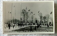 RPPC POSTCARD NATIONS CROSS FIELDS OF THE WOOD CHEROKEE COUNTY NORTH CAROLINA #p