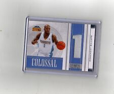 #6/10 (ONLY 10) 2009-10 NATIONAL TREASURES JERSEY PATCH CHAUNCEY BILLUPS $100??