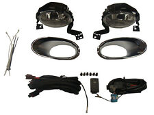 Honda Crv 2010-2012 Fog Lamp Light With Chrome Trim Kit Exterior Accessory