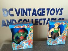 Vintage Street Fighter Blanka Guile KO World Championship Super Fighter MiB Pair