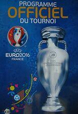 off. Turnier Programm UEFA Euro 2016 France (französisch)