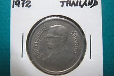 1972  Vintage THAILAND 5 BAHT, Large Copper/Nickel Coin in Extra Fine Condition