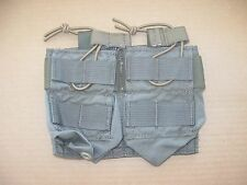 Eagle industries 5.56 double pocket 4 mag pouch molle Ranger green bungee pull