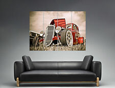 Hot Rod Classic Muscle Cars Custom Roadsters  Wall Art Poster Grand format A0
