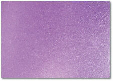 2 x A4 SHEETS OF 220GSM PREMIUM DOVECRAFT LILAC GLITTER CARD