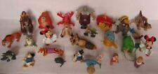 Lot of 26 PVC FIGURES ALADDIN Mickey Mouse Toy Lion King Wind up Disney Store