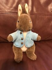 Beatrix Potter Peter Rabbit Stuffed Animal By F.W. & Co 8 Inches Tall