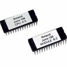 Roland Juno 106 firmware OS upgrade EPROM version CPU A5, Module B2