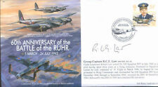 MF5d WWII WW2 DH Mosquito PFF RAF cover signed LAW DSO DFC