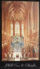 Old Postcard of Chancel of the Chapel. Liverpool Cathedral