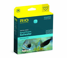 RIO GENERAL PURPOSE TROPICAL SALTWATER WF-8-F/I #8 WT. CLEAR SINK TIP FLY LINE