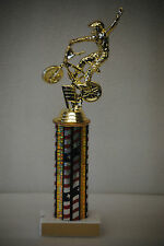 "11"" BMX Bike Trophy Award with free engraving"