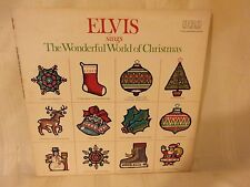 ELVIS SINGS THE WONDERFUL WORLD OF CHRISTMAS - 33 - RECORD - RCA - 1971
