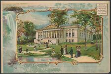 "PAN-AM EXPO 1901 FULL SIZE ORNATE CARD ""NEW YORK STATE BUILDING"" BR9956"