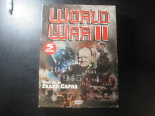WORLD WAR II-5 DVD BOX SET-By Frank Capra 10 hours-AWARD WINNING!