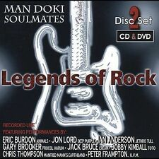 ~BACK ART MISSING~ Man Doki Soulmates Allstars CD Legends of Rock (W/Dvd)