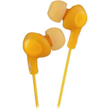 JVC GumyPlus Orange Noise Isolation Stereo Earbud Headphone New Free US Shipping