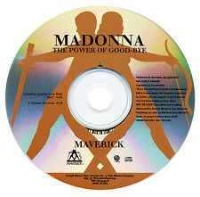 Madonna THE POWER OF GOOD-BYE (Original Promo CD Single) (1998) RARE