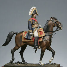 Metal Modeles Mounted Napoleonic Marshal Berthier 54mm Unpainted Kit