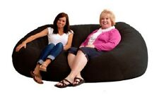 Bean Bag Chairs XXL 7' Oversized Adults Teens Love Seat Sofa Sac Suede  Lounger