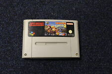 DONKEY KONG COUNTRY 3 Dixie - Super Nintendo SNES Game UK PAL Version - RARE!