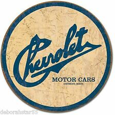 Chevrolet Chevy Motor Car Historic Logo Vintage Garage Metal Tin Sign New 1796