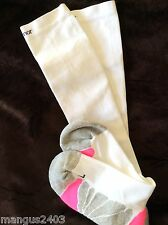LADIES WHITE KARRIMOR HIGH QUALITY COMPRESSION FLIGHT TRAVEL SOCKS 4/8UK 36/41