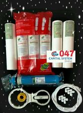 For Water Filter RO Purifier COMPLETE SERVICE KIT + 75 GPD hi-tech MEMBRANE[047]