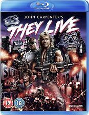 BLU-RAY  THEY LIVE ( JOHN CARPENTER )    BRAND NEW SEALED UK STOCK