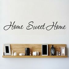 Wall Art Sticker Quote HOME SWEET HOME Home Vinyl Decal p12