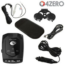 SNOOPER 4 ZERO RADAR LASER & GPS SPEED CAMERA DETECTOR, DETECTION 4ZERO 40