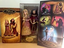 Disney Store Fairytale Designer Rapunzel and Mother Gothel Limited Edition doll