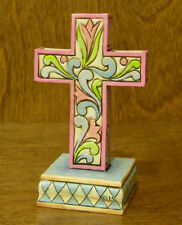 Jim Shore Heartwood Creek #4025851 Mini CROSS, NEW From Retail Store,  3.75""