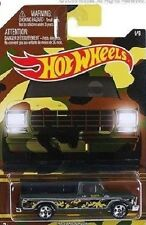 HOT WHEELS CAMO ☆ '70 FORD F100 PICKUP ☆ CARDED 2015 ☆ #01/06