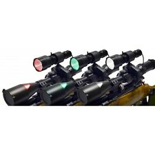 CLULITE TRIO PRO TORCH GUNLIGHT PACKAGE COLOURED LED HEADS CLUSON (CH)