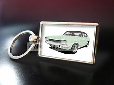 FORD CAPRI MK1 METAL KEY RING. CHOOSE YOUR CAR COLOUR.