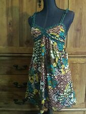 Junior women's size small 21 brand bold print summer dress