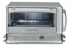 Cuisinart TOB-195 Exact Heat TOASTER OVEN BROILER, Stainless Steel OVEN, Silver