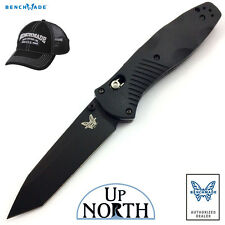 Benchmade 583BK Barrage Axis-Assist Knife 154CM BK Coated TANTO Blade FREE HAT