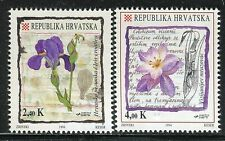 CROATIA 1994 FLOWERS/NATURE/PLANTS/BOTANY/BOOK/SCIENCE/IRIS/COLCHICUM VISIANJI