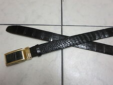 Genuine crocodile leather belt (BBL4)