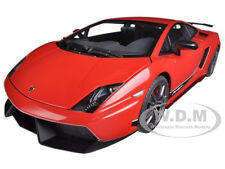 LAMBORGHINI GALLARDO LP570-4 SUPERLEGGERA RED 1/18 MODEL CAR AUTOART 74655