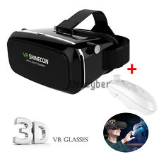 Shinecon VR Virtual Reality Headset 3D Movies Games Video Glasses + Controller
