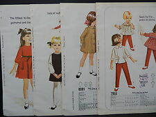 McCalls, 1966 Counter Catalog, Children & Babies Fashion 4 Double-Sided Pages #4